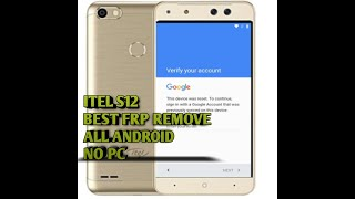 BYPASS GOOGLE ACCOUNT/FRP LOCK TECNO W4 -2019