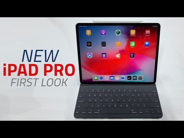 Ipad Pro 2018 Models With Face Id Usb Type C And Slimmer Bezels