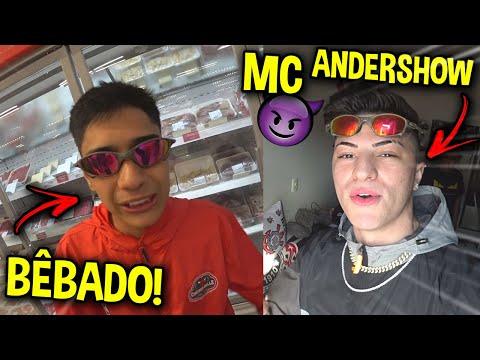 VOU VIRAR MC?! & GABRIEL GOMES FICOU MUITO BÊBADO!!