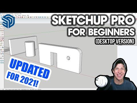 Getting Started with SketchUp in 2021 - Part 1 - BEGINNERS START HERE! (Desktop Version Tutorial)