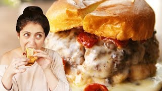 5 Burgers You Can ONLY Find In NYC | Delish Burger Tour