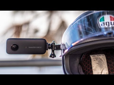 Insta 360 One X on a Motorcycle | How do you get EPIC footage?