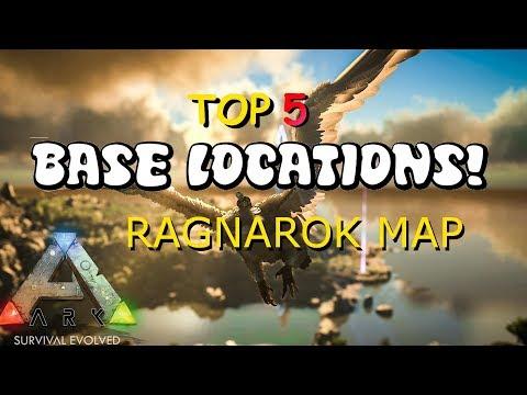 NEW BEST BASE LOCATIONS!! Ark RAGNAROK *DESERT CAVE (31-1-2018