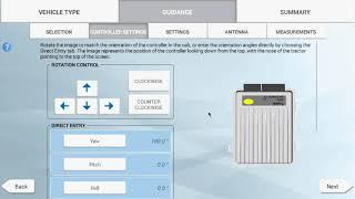 XCN 2050: Precision-IQ Vehicle Setup