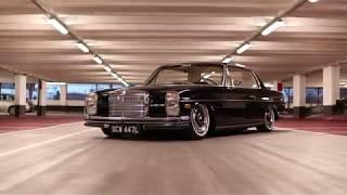 Bagged Mercedes W114 Feature