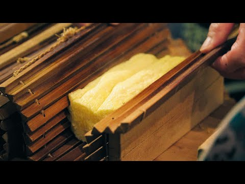 Fluffy Japanese Rolled Omelet in Kyoto Japan∥だし巻き卵∥ Nishiki Market∥Japanese Street Food