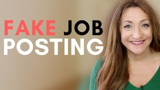 6 Signs A Job Posting Is Fake