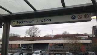 preview picture of video 'Full Journey on Tramlink route 2 from Beckenham Junction to Wellesley Road then Beckenham Junction'