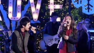 Charice & David Archuleta - Have yourself a merry little Christmas (with lyrics)