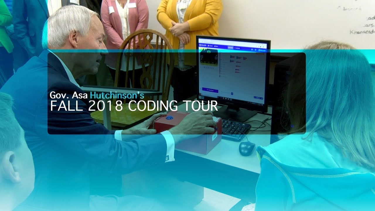 Governor Hutchinson's Fall 2018 Coding Tour