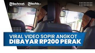 Viral Video Penumpang Angkot Ngotot Bayar Rp200 Perak Saja, Sang Sopir Pilih Kembalikan Uangnya