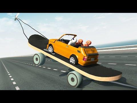 Beamng Drive Rocket Ride Crashes #8