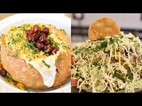 KING of CHAAT   BIG Dahi Kachori   Samosa Cheese Bhel   Indian Street Food