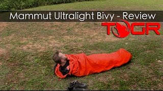 Only for the Cold Months - Mammut Ultralight Bivy - Review