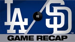 3-run 6th, Lauer propel Padres to win | Dodgers-Padres Game Highlights 8/26/19