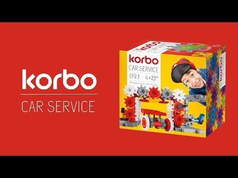 Конструктор Korbo Car service 119 эл