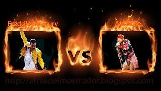 Gambar cover Freddie Mercury (Queen) VS  Axl Rose (Guns N Roses & AC/DC)