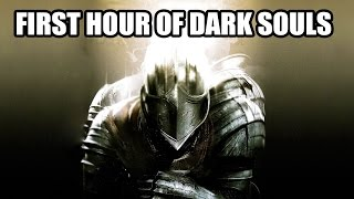 My first hour of dark souls (Stream Highlights)