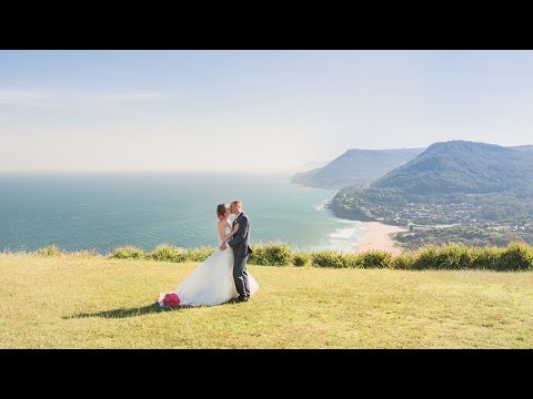 Michaela + Conrad | Stanwell Tops, NSW, Australia | Tumbling Waters Retreat