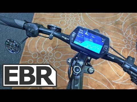 Bosch Nyon Electric Bike Display Overview