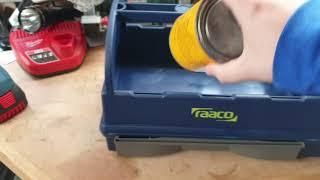 Raaco tool tote - electricians / plumbers tools