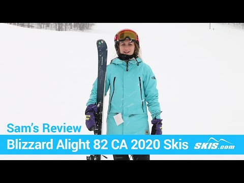 Video: Blizzard Alight 82 CA Skis 2020 17 40