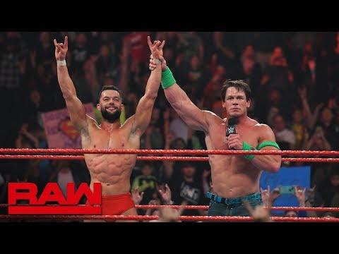 John Cena believes in Finn Bálor: Raw, Jan. 17, 2019