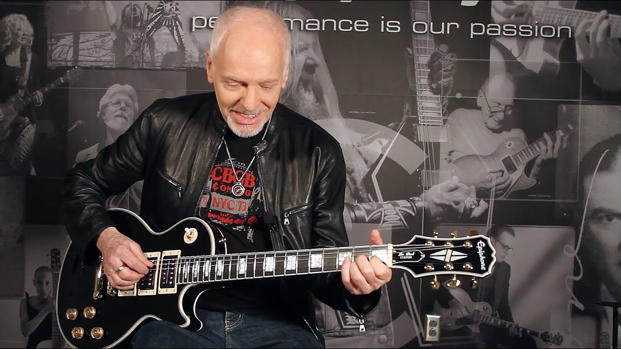 Epiphone Ltd Ed Peter Frampton Les Paul Custom PRO Video