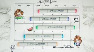 Cute DIY Monthly Calendar