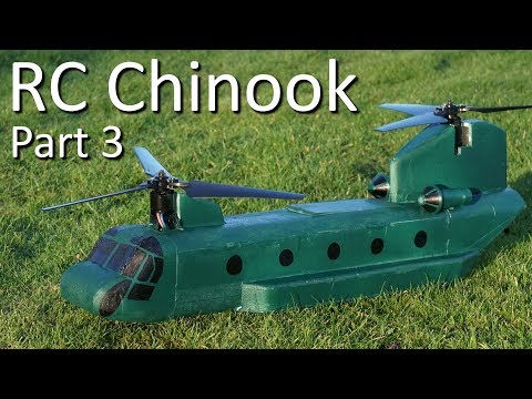 RC Chinook Bicopter – Part 3
