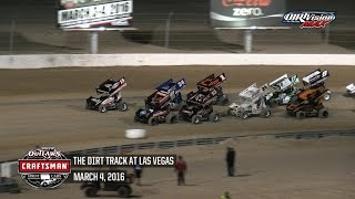 Sprint_Cars - LasVegas2016 R07 Highlights
