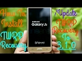 How To Install/Update TWRP Recovery In Samsung Galaxy J2 !!!