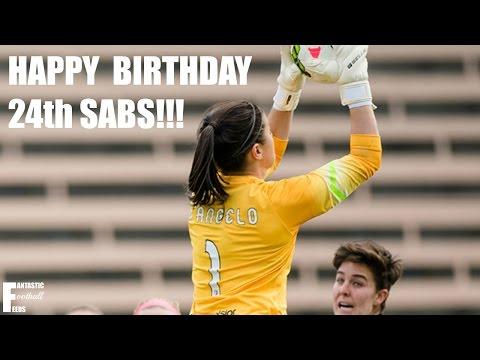 Sabrina D'Angelo Edit // Happy 24th Birthday Sabs // fantasticfootballfeeds (видео)
