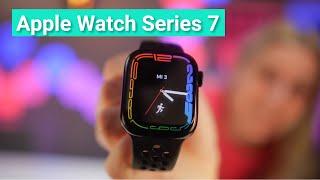 Apple Watch Series 7 - Ein erster kurzer Test & Vergleich zur Series 6