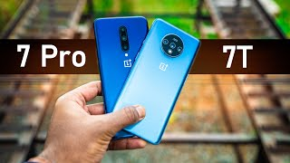 OnePlus 7T vs 7 Pro - We Have A WINNER!