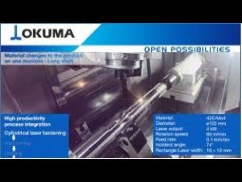 Okuma MULTUS U5000 LASER EX Long Shaft Machining