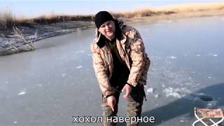 Ловля сазана зимой.