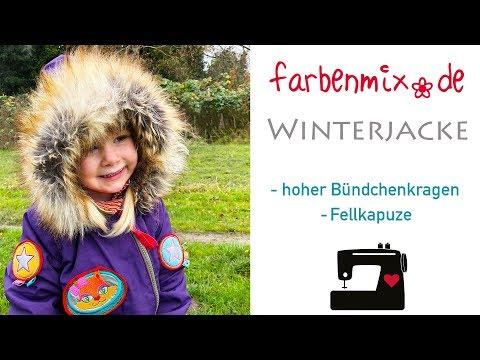 Videoanleitung Bündchenkragen : Fellkapuze an jede beliebige Winterjacke nähen