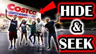 HIDE AND SEEK IN COSTCO