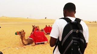 THE HOT SUCKER CHALLENGE + RIDING CAMELS IN DUBAI! | Daily Dose S2Ep300