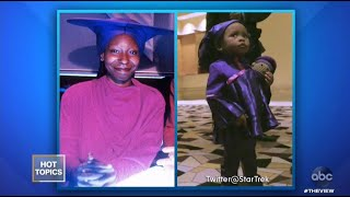 Whoopi Goldberg Reacts to Little Girl Dressed as Guinan from 'Star Trek' | The View