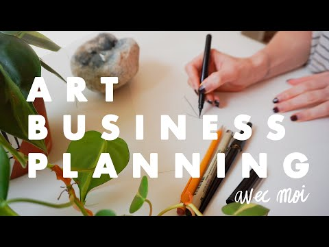 , title : 'Creating A Business Plan! | for artists & illustrators