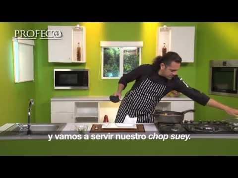 Receta De Un Delicioso y Saludable Chop Suey De Pollo