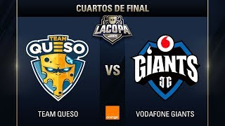 TEAM QUESO VS VODAFONE GIANTS - LA COPA DE CLASH ROYALE -  #COPACLASHCUARTOS