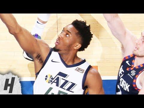 Utah Jazz vs New York Knicks - Full Game Highlights | March 20, 2019 | 2018-19 NBA Season