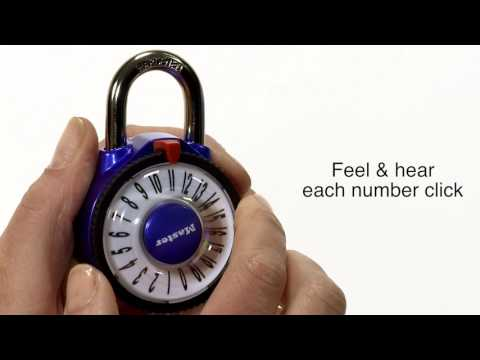 master combination lock instructions