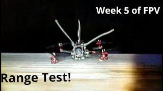 Eachine Novice 3 Range Test FPV
