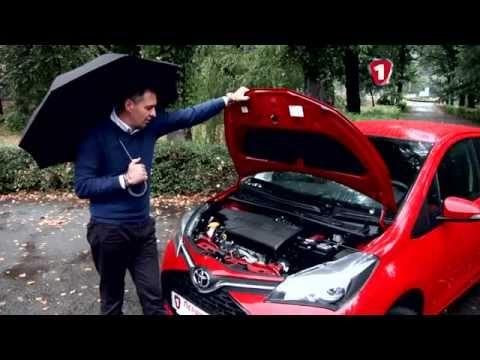 Toyota  Yaris Хетчбек класса B - тест-драйв 1