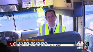 Hiring Fairs In Olathe Let You Drive School Bus