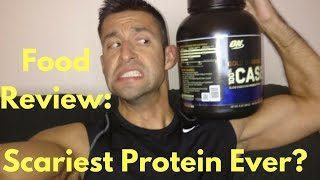 DWALLY19 Food Review Ep. 3: ON Gold Standard 100% Casein Protein Powder - Chocolate Supreme